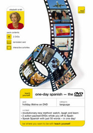 Teach Yourself One-day Spanish by Elisabeth Smith image