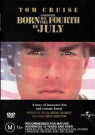 Born On The 4th Of July on DVD image