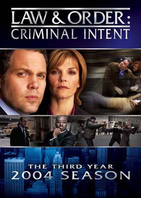 Law & Order - Criminal Intent: The 3rd Year (5 Disc Set) on DVD