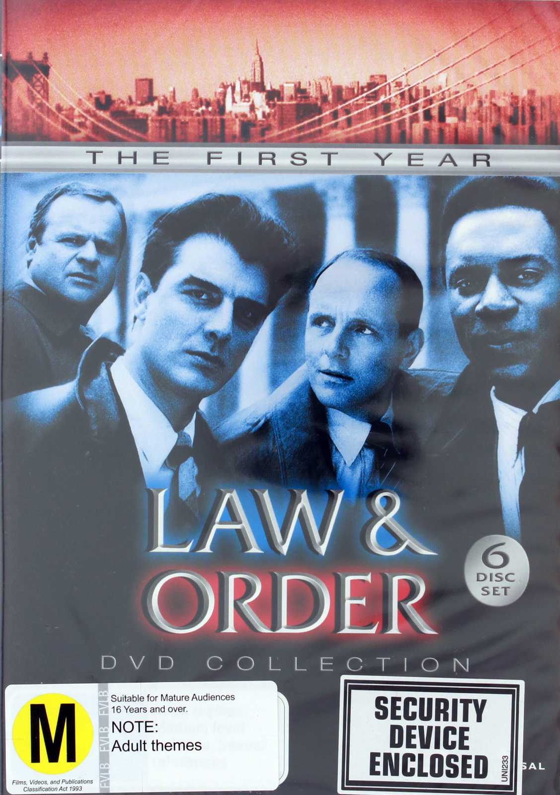 Law & Order - The 1st Year Collection on DVD image