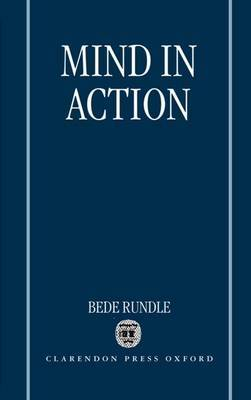 Mind in Action by Bede Rundle image