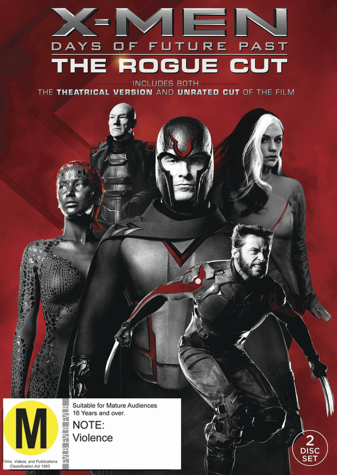 X-Men: Days Of Future Past - Rogue Cut on DVD image