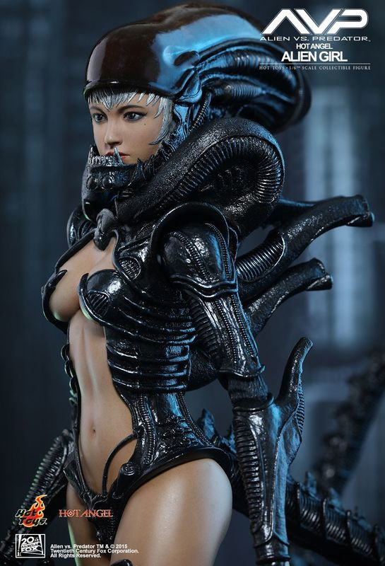 "Hot Angels: Alien Girl - 12"" Articulated Figure"