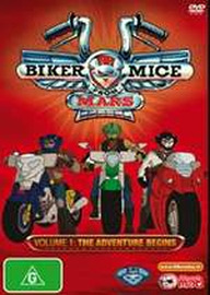 Biker Mice From Mars (2006) Vol 1 on DVD image