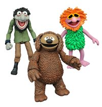 Muppets: Rowlf & Crazy Harry - Action Figure Set