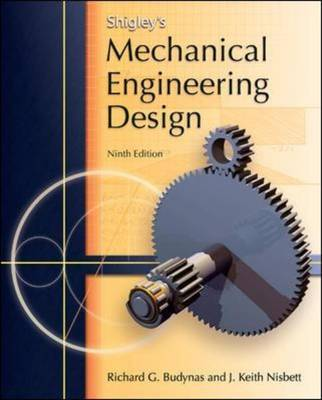 Shigley's Mechanical Engineering Design by Richard G. Budynas image