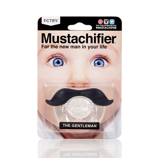 Mustachifier - The Gentleman - Black