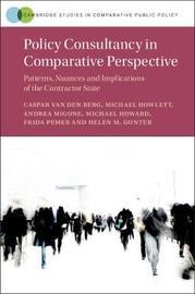 Policy Consultancy in Comparative Perspective by Caspar van den Berg image