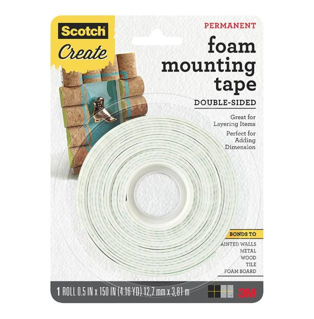 Scotch Craft Mounting Tape 12.7mm x 3.81m