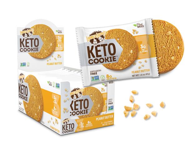 Lenny & Larry Keto Cookie - Peanut Butter (12x45g)