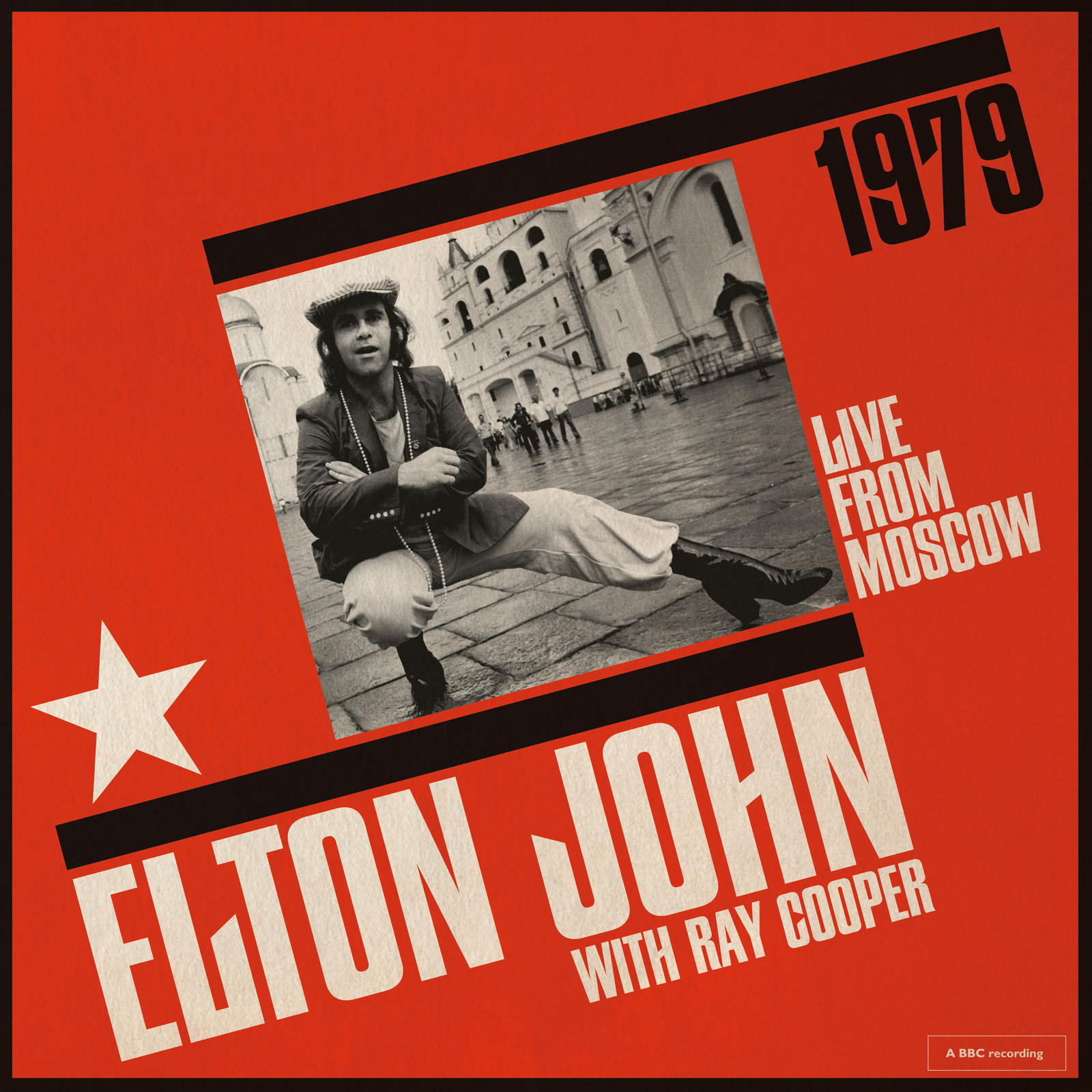 Live From Moscow by Elton John image