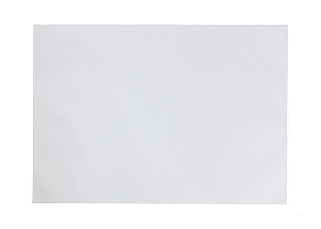 Office Supply Co: Desk Pad Plain White 100 Leaf (A2)