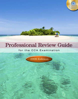Professional Review Guide for the CCA Examination: 2008 by Patricia Schnering image
