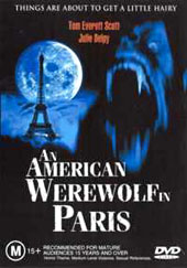 An American Werewolf In Paris on DVD