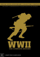 WWII - The Complete History: Special 60th Anniversary Collector's Edition (10 Disc Box Set) on DVD