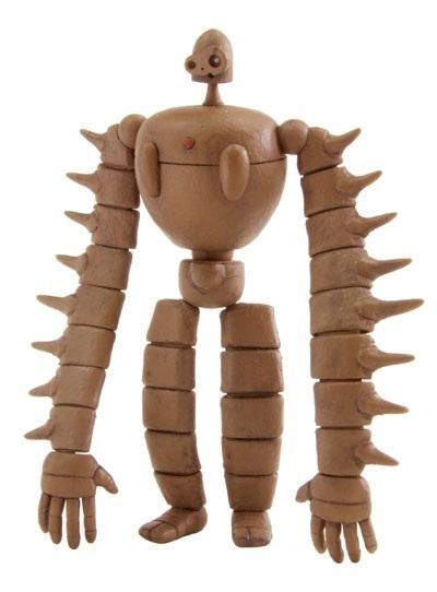 Laputa 1/20 Castle in the Sky Robot Soldier - Model Kit image