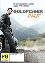 Goldfinger (2012 Version) on DVD