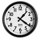 General Eclectic Retro School Clock (Black)