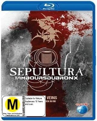 Sepultura: Metal Veins Alive at Rock in Rio on Blu-ray