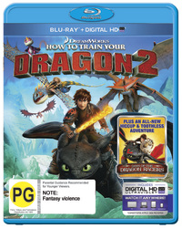 How To Train Your Dragon 2 on Blu-ray, UV