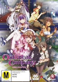Outbreak Company Series Collection on DVD