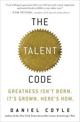The Talent Code by Daniel Coyle image