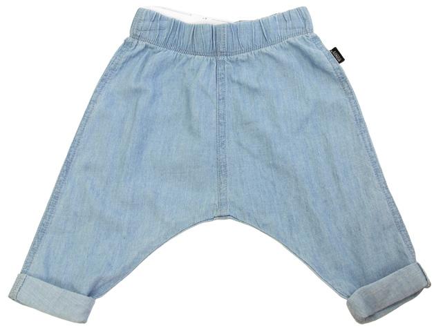 Bonds Chambray Pants - Summer Blue (0-3 Months)