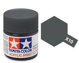 Tamiya Acrylic: Gun Metal (X10)
