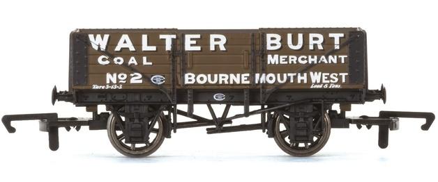 Hornby: 5 Plank Wagon 'Walter Burt'