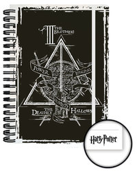 Harry Potter Notebook (A5, Deathly Hallows)