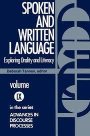 Spoken and Written Language by Deborah Tannen