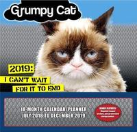 Grumpy Cat 2019 Wall Planner by Sellers Publishing