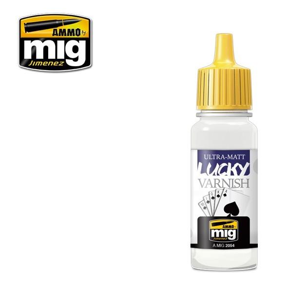 Ammo of Mig Jimenez: Ultra-Matt Lucky Varnish (17ml)