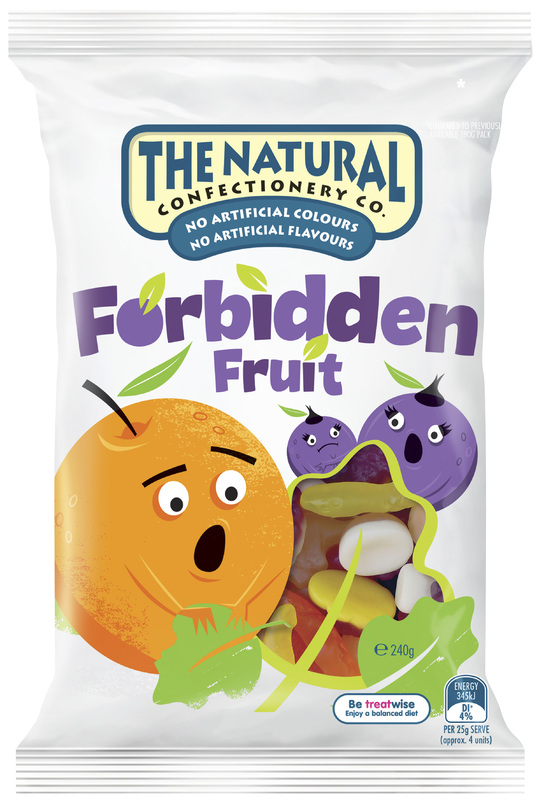 The Natural Confectionery Co Forbidden Fruit (240g)