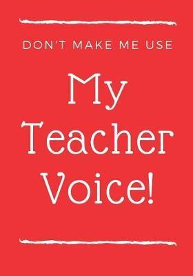 Teacher Notebook by Fundamental Books