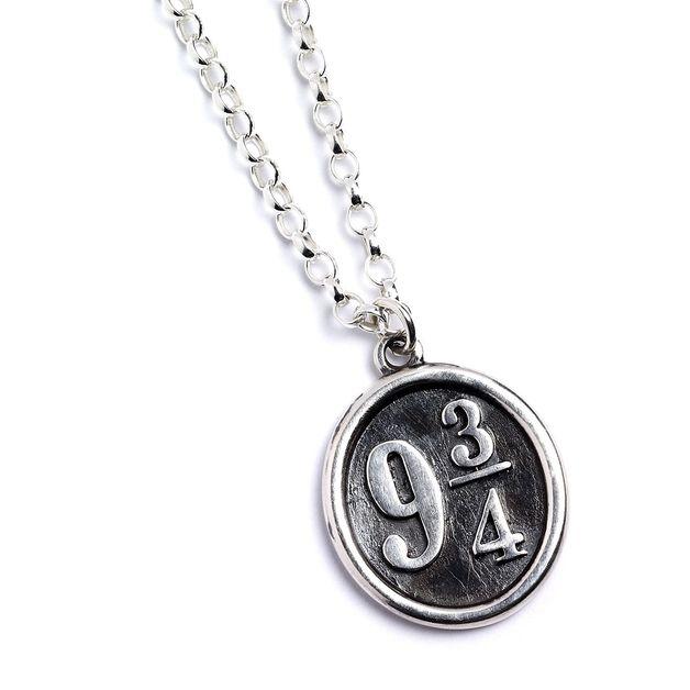 The Carat Shop: Official Harry Potter Platform 9 3/4 Necklace Sterling Silver