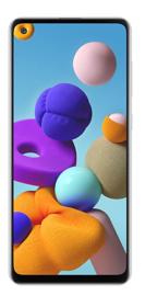 Samsung: Galaxy A21s (64GB/4GB RAM) - White