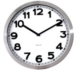 Karlsson White Wall Clock with Numbers - 40cm