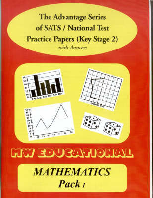 Mathematics Key Stage Two National Tests: Pack One by Mark Chatterton image