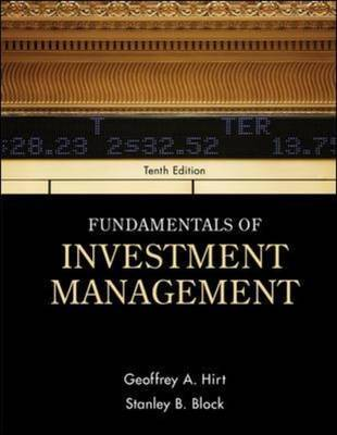 Fundamentals of Investment Management by Geoffrey A Hirt
