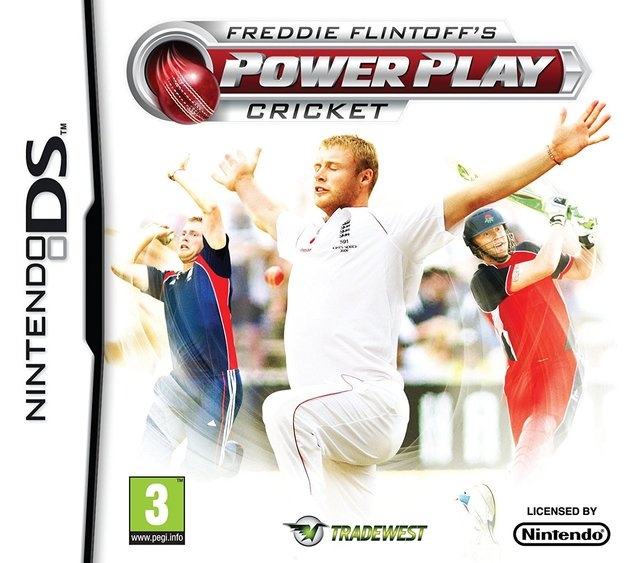 Freddie Flintoff's Power Play Cricket for DS