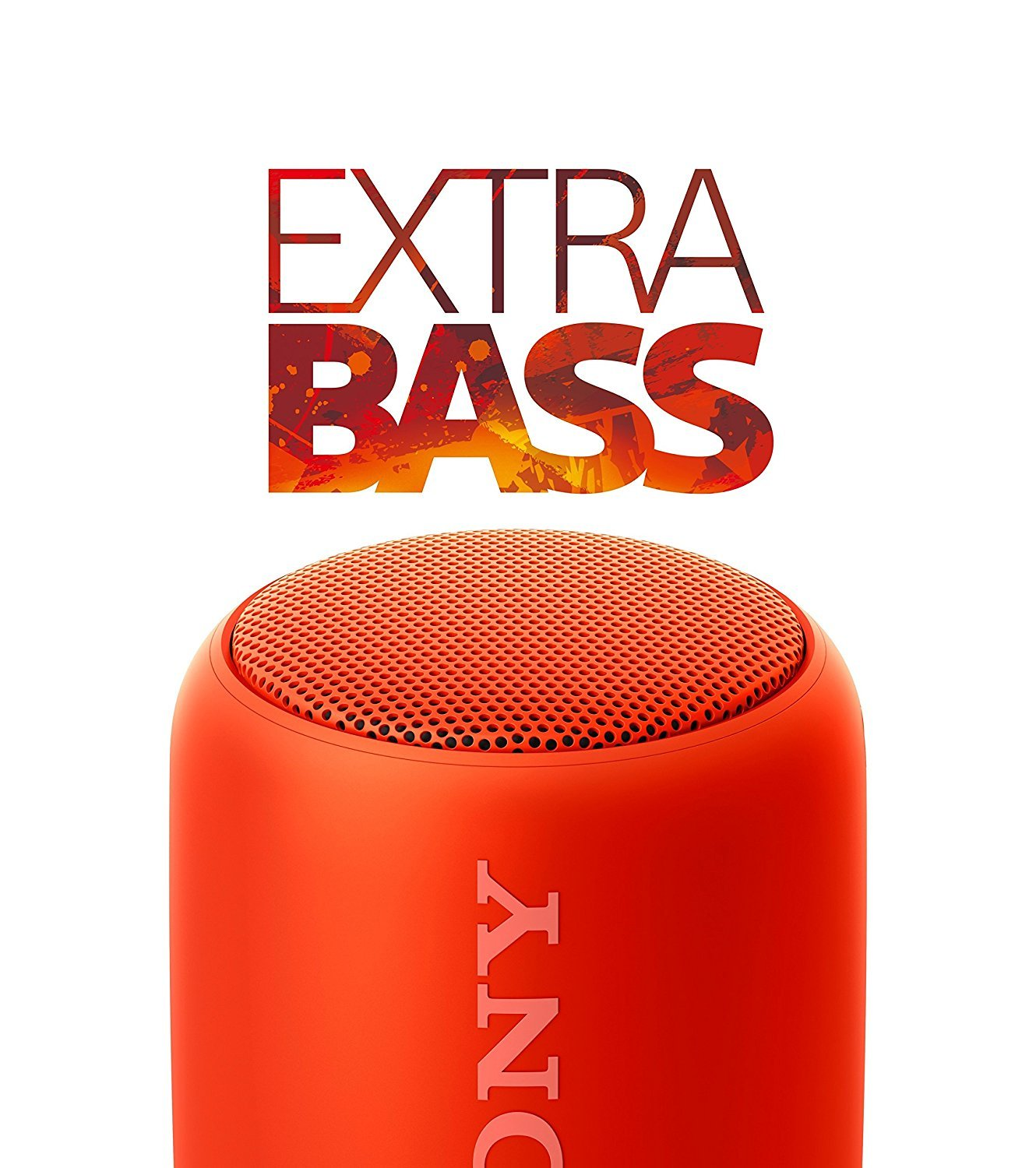 Sony SRS-XB10 Portable Wireless Speakers - Red image