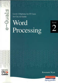 e-Quals Level 2 Office XP Word Processing by Rosemarie Wyatt image