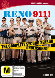 Reno 911: Season 2 (4 Disc Set) on DVD