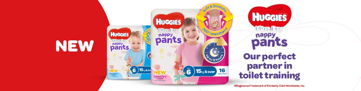 Ultra Dry Nappy Pants