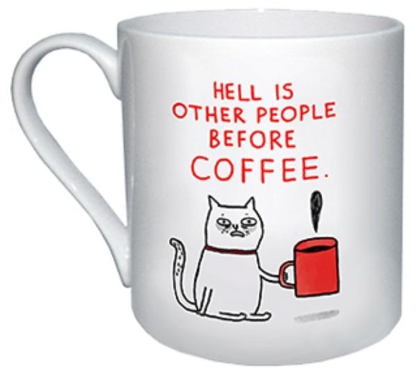 Mug - Hell Is Other People