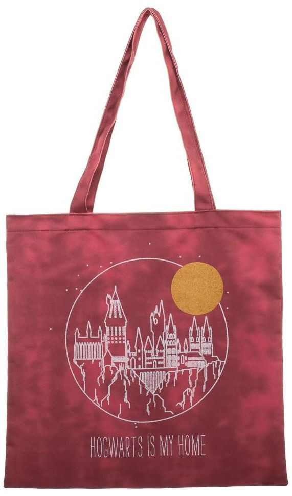 Harry Potter Hogwarts is My Home Canvas Tote image
