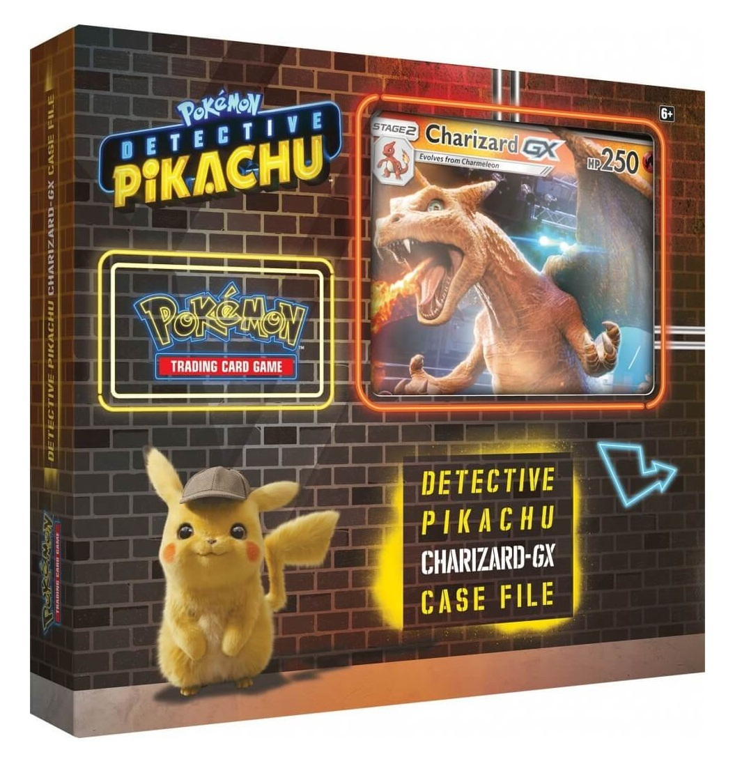 Pokemon TCG: Detective Pikachu - GX Case File (Charizard) image