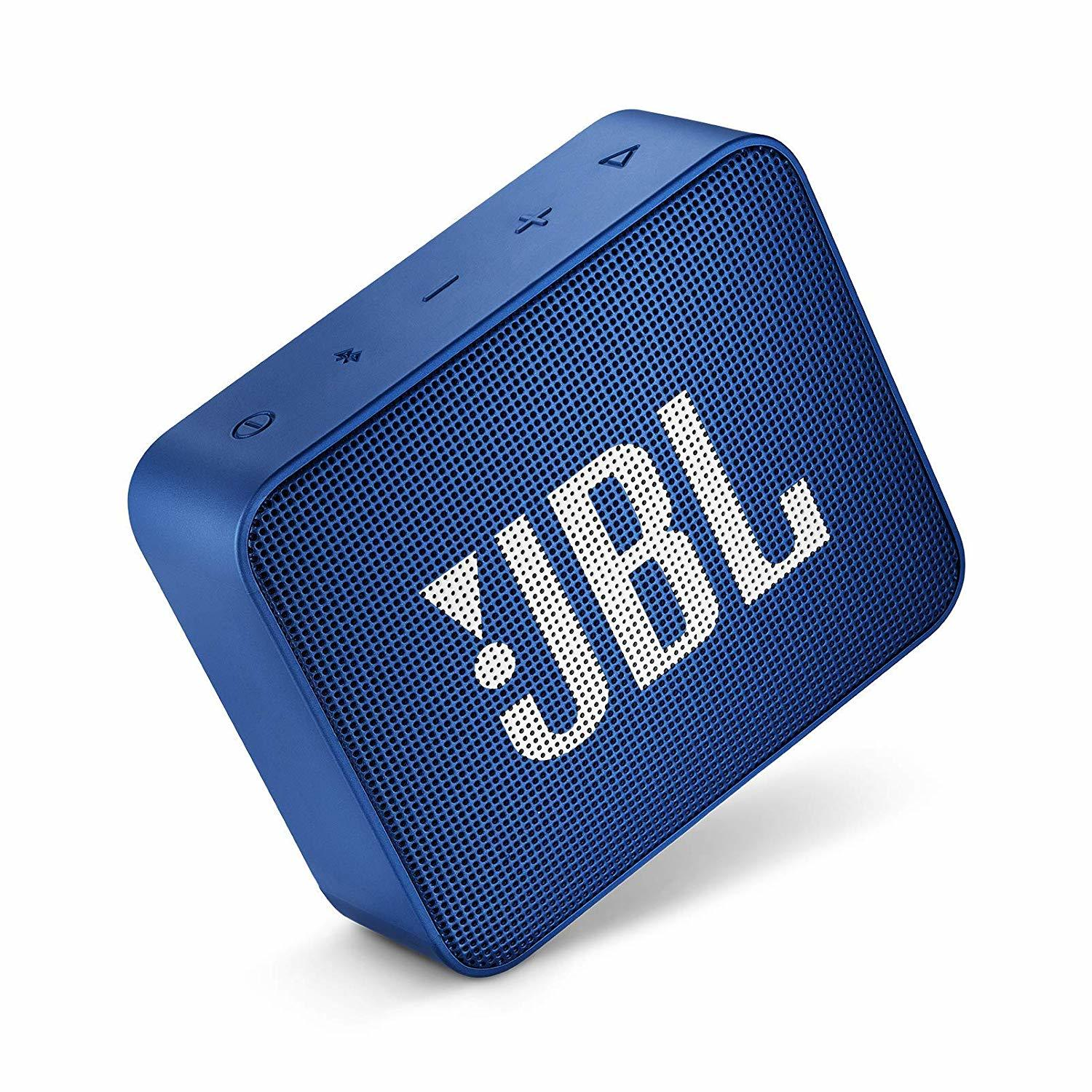 JBL Go 2 Speaker Bluetooth Speaker - Deep Blue Sea image