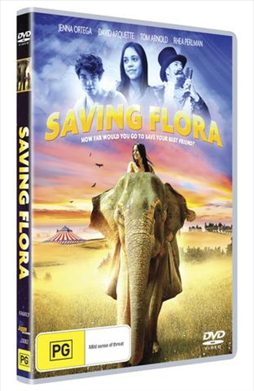 Saving Flora on DVD